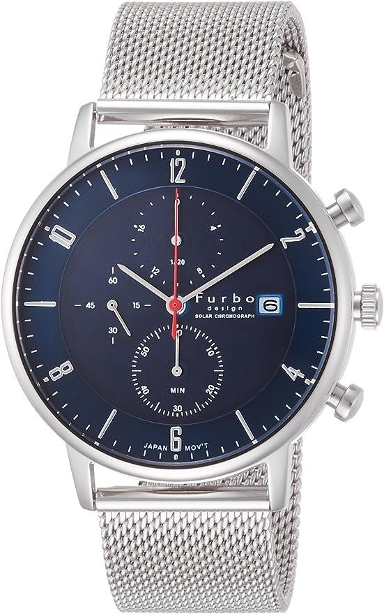 [フルボデザイン] 腕時計 F761-SNVSS メンズ シルバー
