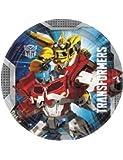 8 Assiettes 23 cm Transformers