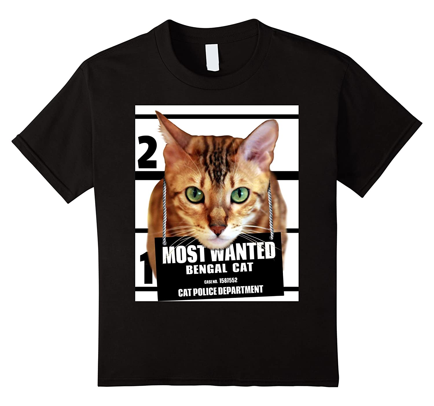 Mens Most Wanted Bengal T shirt-Veotee