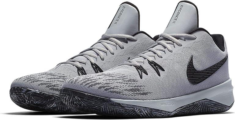 cascada encender un fuego A pie  Amazon.com | Nike Men's Zoom Evidence Basketball Shoe, Wolf  Grey/Black/Black, 13 | Basketball
