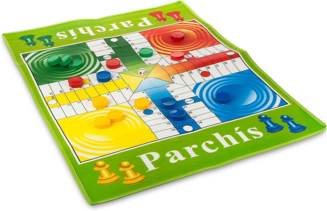Color Baby Juego de parchis Gigante: Amazon.es: Juguetes y juegos