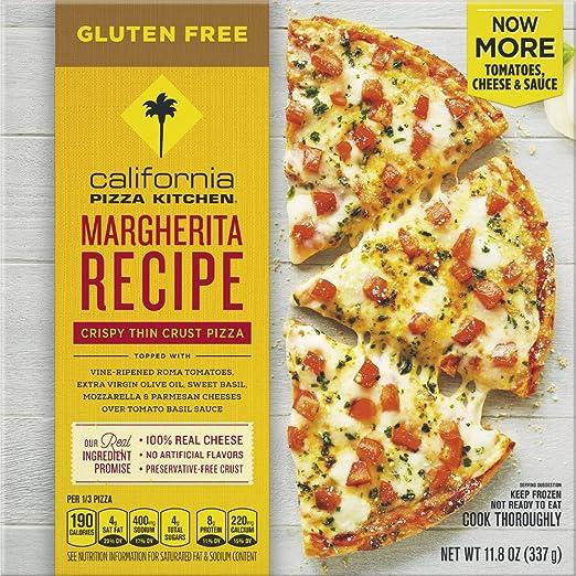 california pizza kitchen gluten free margherita frozen pizza 11 8 oz rh amazon com