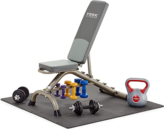York Fitness - Alfombra protectora de suelo para aparatos de ...