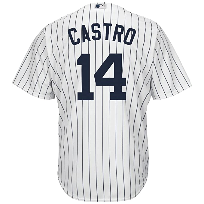 quality design b1644 964f2 Amazon.com: Outerstuff Starlin Castro New York Yankees White ...