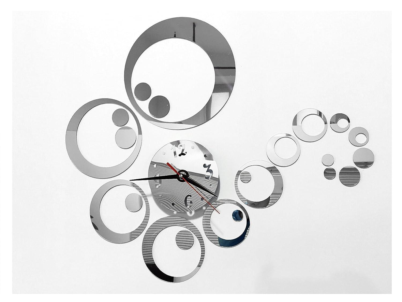 tofern 3d fai da te splendido orologio da parete adesivi ... - Decorare Soggiorno Fai Da Te