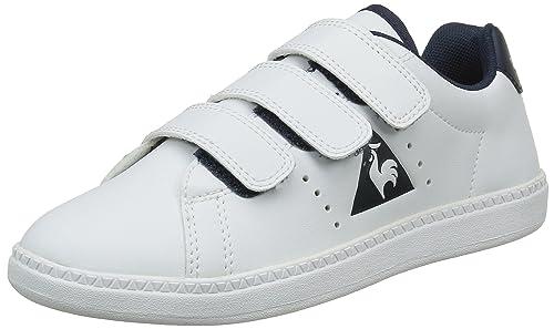 Le Coq Sportif Courtone PS S, Zapatillas para Niñas: Amazon.es: Zapatos y complementos