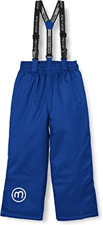 MINYMO Snow Pants Oxford Solid Pantalones de Nieve. Unisex niños