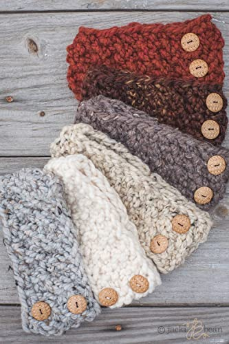 Amazon The Button Band Pick Your Colorknitted Headbandcozy