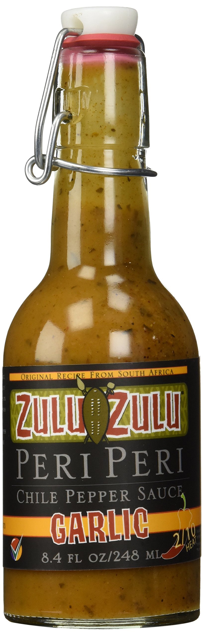 Zulu Zulu Garlic Hot Sauce
