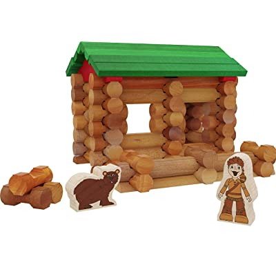 Lincoln Logs Series 1 - Davy Crockett: Toys & Games