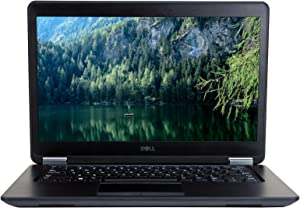 Dell Latitude E7450 14in Laptop, Core i7-5600U 2.6GHz, 16GB Ram, 256GB SSD, Windows 10 Pro 64bit (Renewed)