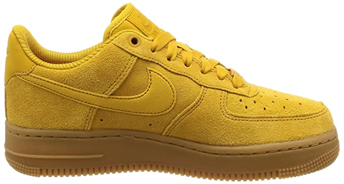 Nike Damen Air Force 1 '07 Gelb Sneakers 896184 700