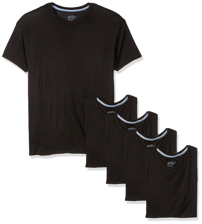 Hanes Men's 5-Pack X-Temp Comfort Cool Dyed Crewneck Undershirt MXT1SV