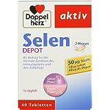 Doble Corazón selenio de 2 fases Depot pastillas 40 STK