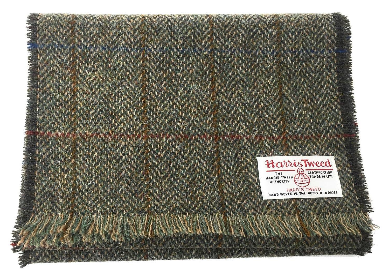 verde Scott/&MacKenzie Sciarpa di lusso di Harris Tweed nella scelta del colore e del disegno