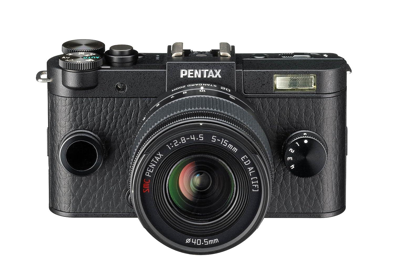 Pentax Q-S1 + 5-15mm + 15-45mm - Cámara Evil, Negro