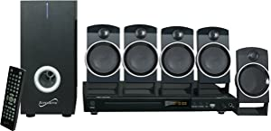 Supersonic SC37HT 5.1 Channel DVD Home Theater System