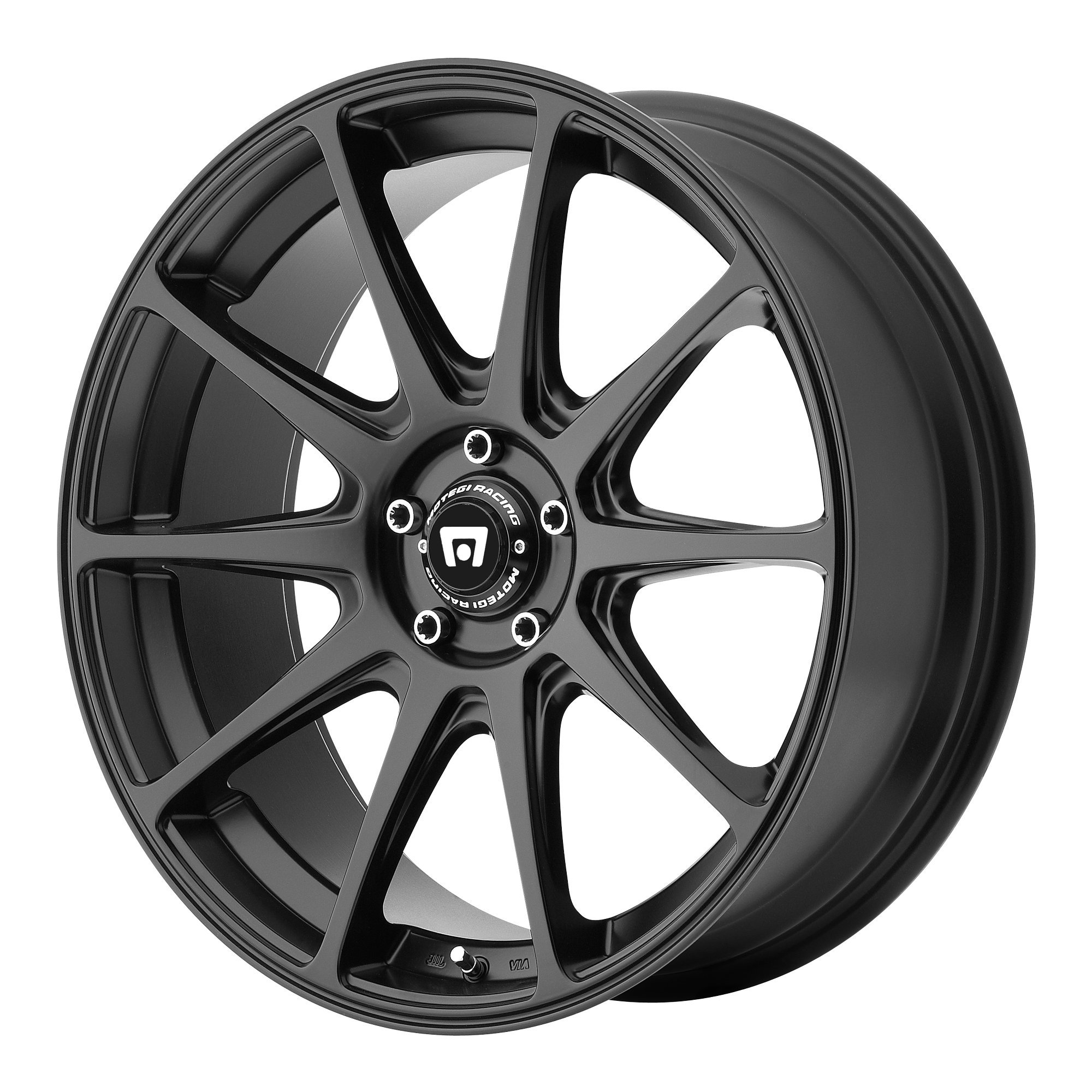 Motegi Racing MR127 Satin Black Wheel (20x8.5''/5x114.3mm, +25mm offset) by Motegi Racing (Image #1)