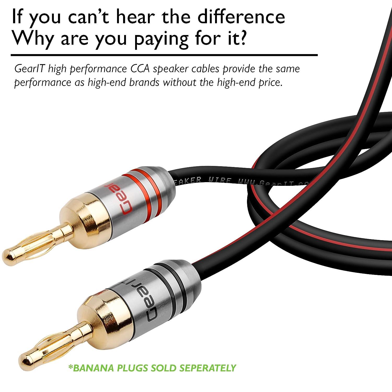 Amazon.com: 12AWG Speaker Wire, GearIT Pro Series 12 AWG Gauge ...