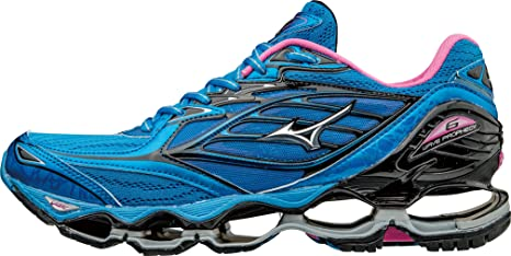 Mizuno - Wave Prophecy 6 - Zapatillas Neutras - Diva Blue/Silver ...