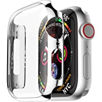PC Frame Case cover For Apple Watch band 44mm iwatch series 4 protective screen protector shell