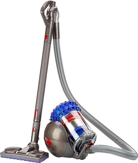 Dyson Cinetic Big Ball Musclehead-Aspiradora sin Bolsa de Trineo (1200 W de Potencia, 250 W de succión, Capacidad del Cubo 1.6 litros, 5 años de garantía) Color Azul, 81 Decibelios, Metal, plástico: Amazon.es: Hogar