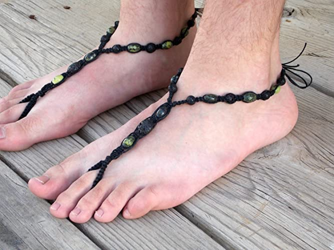 5964255e71bad Amazon.com  Mens Barefoot Sandals