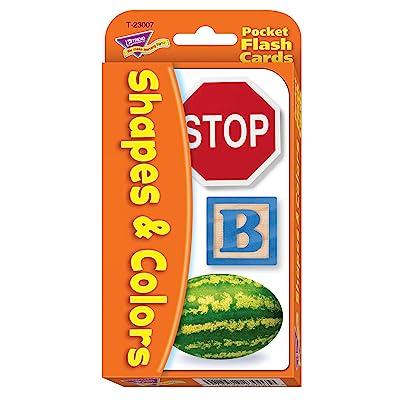 Colors & Shapes Pocket Flash Cards: Toys & Games