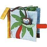 FRANCK & FISCHER - Livre en tissu petit singe - Tissu - 1401-1022