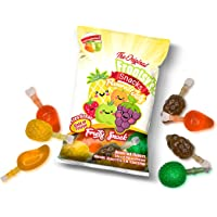 Frootsy's Fruit Jelly Snack TikTok Ju-C Jelly Fruit Candy Bag 11.6 Oz! 5 Flavors Strawberry, Apple, Pineapple, Grape and Mango! Tasty Fruity Jelly! Perfect For TikTok Jelly Challenge Hit or Miss!