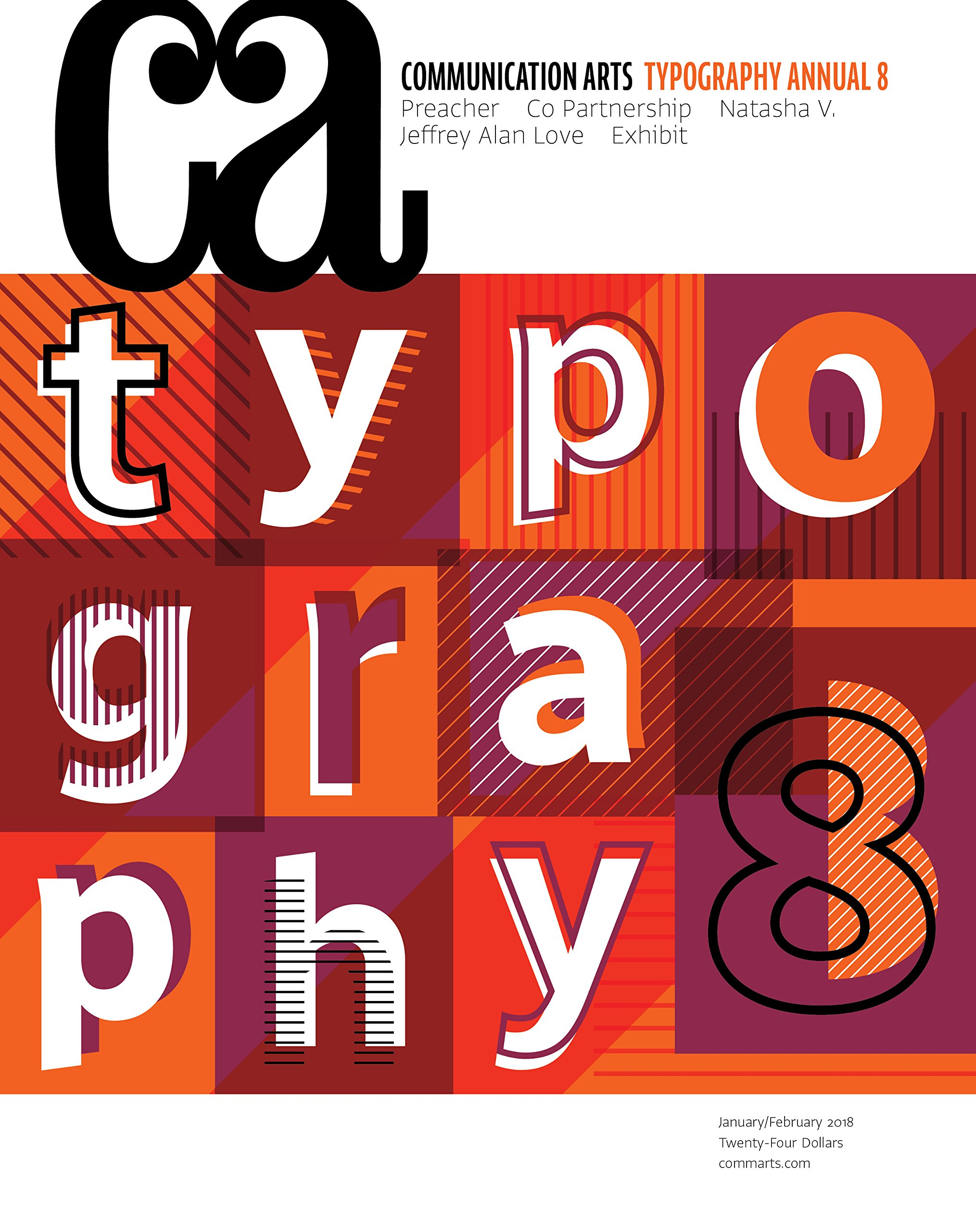 Download Communication Arts 2018 January/February Typography Annual 8 (Volume 59, Number 6) pdf epub