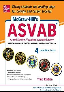 Amazon kaplan asvab premier 2016 with 6 practice tests book mcgraw hills asvab 3rd edition strategies 4 practice tests mcgraw hills fandeluxe Choice Image