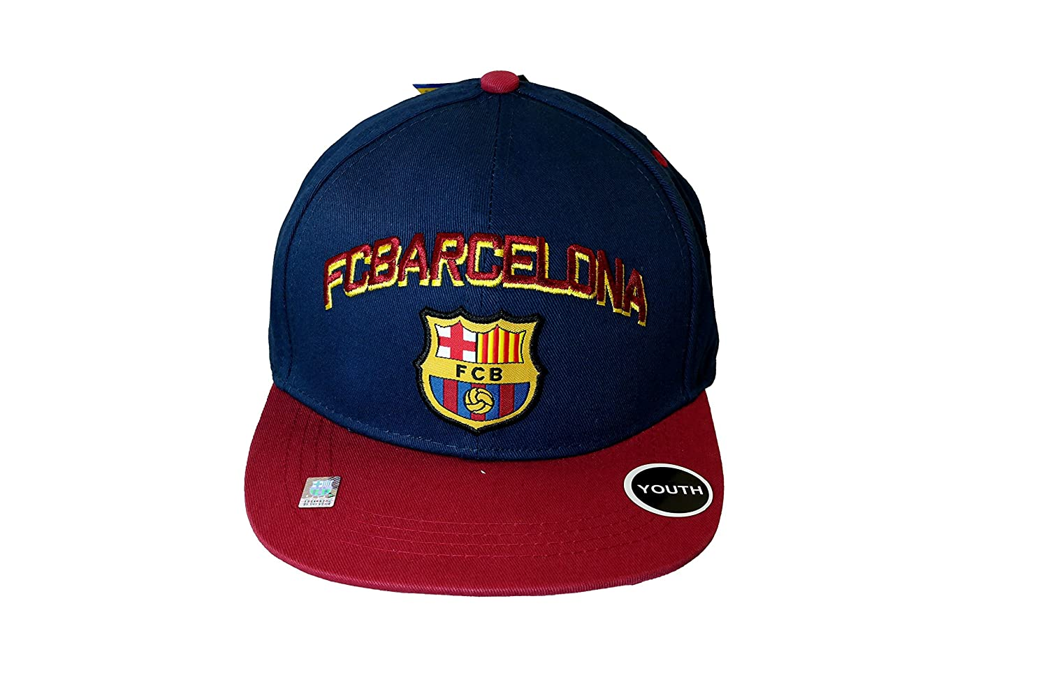 ユースFC Barcelona Authentic Official Licensed Product Soccerキャップ – 02 – 3 B07B8FHN3H