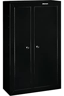 Amazon.com: American Furniture Classics 916 16 Gun Metal Cabinet ...
