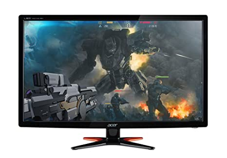 Acer GN246HL Bbid 24-Inch Full HD (1920 x1080) Widescreen 3D Gaming  Monitor|144Hz Refresh Rate|1ms Response Time| (1 x VGA, 1 x DVI, 1 x HDMI)