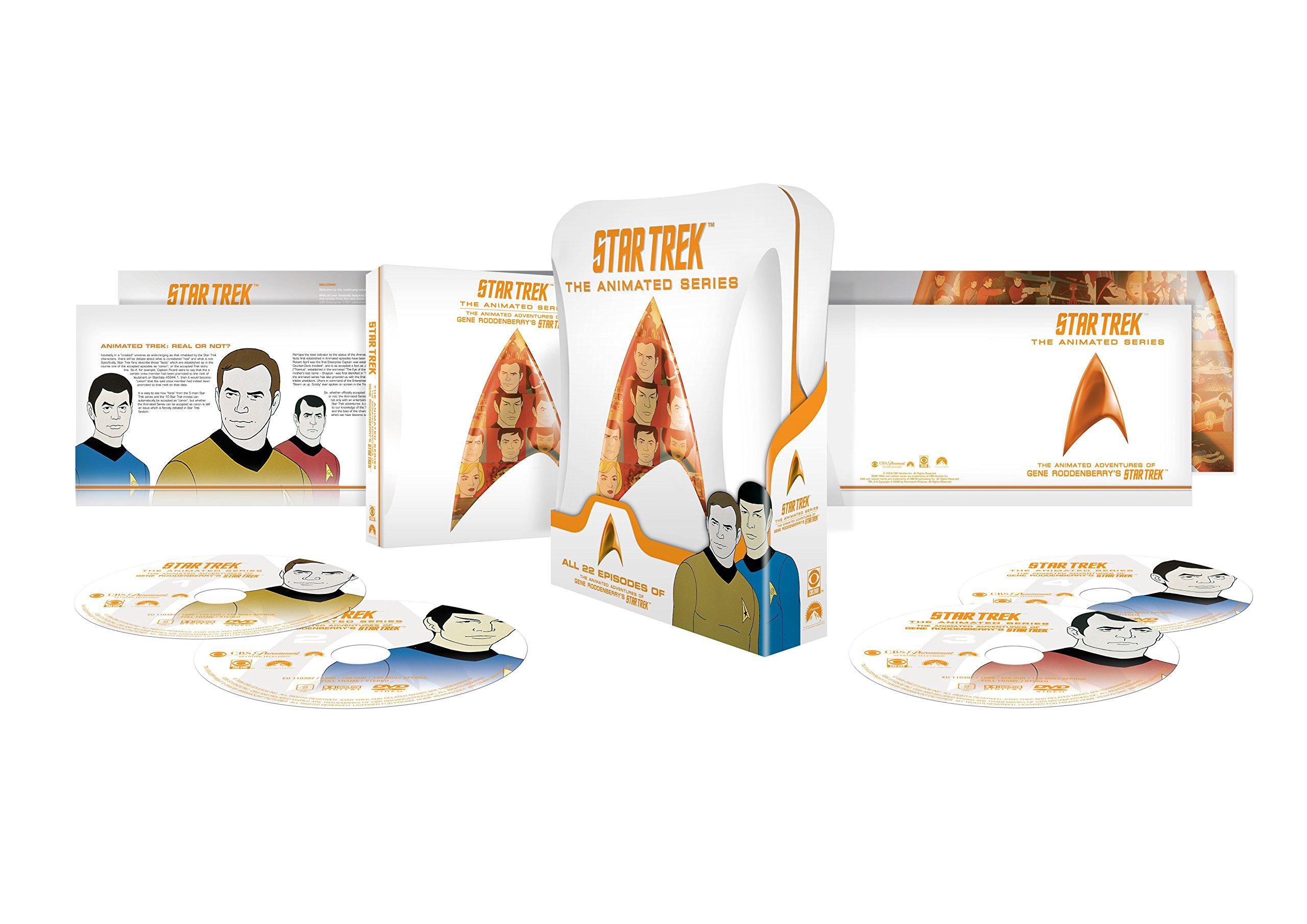 DVD : Star Trek: The Animated Series (Full Frame, , Dolby, AC-3, Sensormatic)