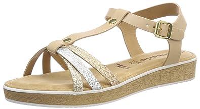 Tamaris Damen 28605 T Spangen Sandalen: : Schuhe