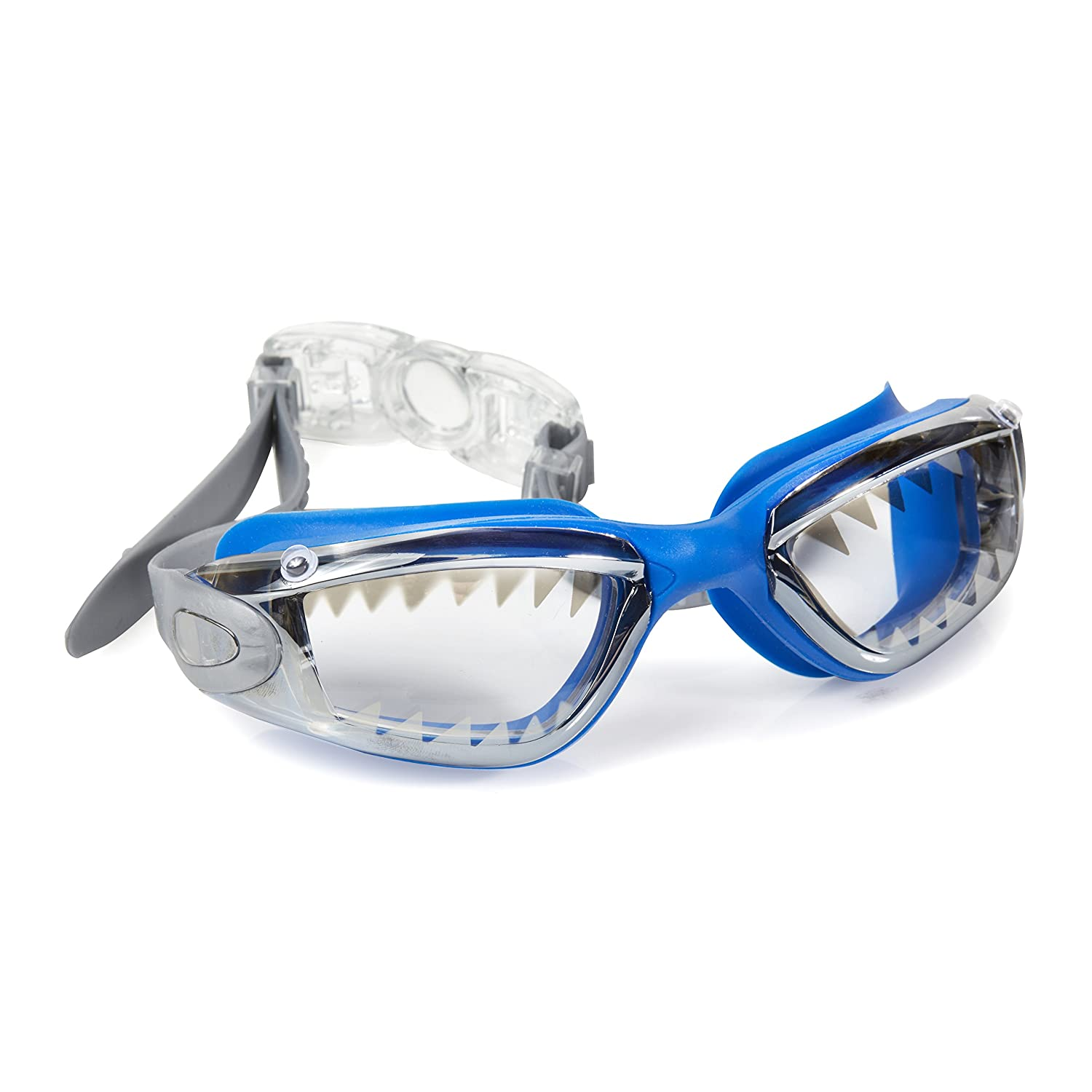 Bling2o Swimming Goggles for Boys - Jawsome Kids Swim Goggles (Royal Reef Shark)