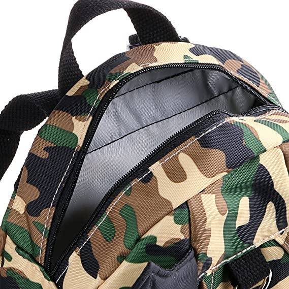 c46deb734ce4 Hipiwe Baby Toddler Walking Safety Backpack with Leash Little Kid Boys  Girls Anti-lost Travel Bag ...