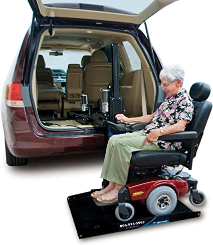 Amazon.com: Harmar Mobility Upgraded AL600 Scooter & Wheelchair Hybrid  Platform Lift with Mounting Kit & Wiring Harness: Health & Personal Care