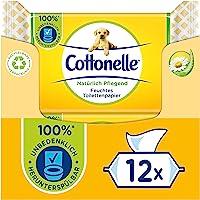 Cottonelle Fuktigt toalettpapper naturligt närande 12 x 42 våtservetter 2,16 kg