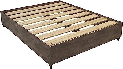 Amazon Com Espresso Queen Mate S Platform Storage Bed