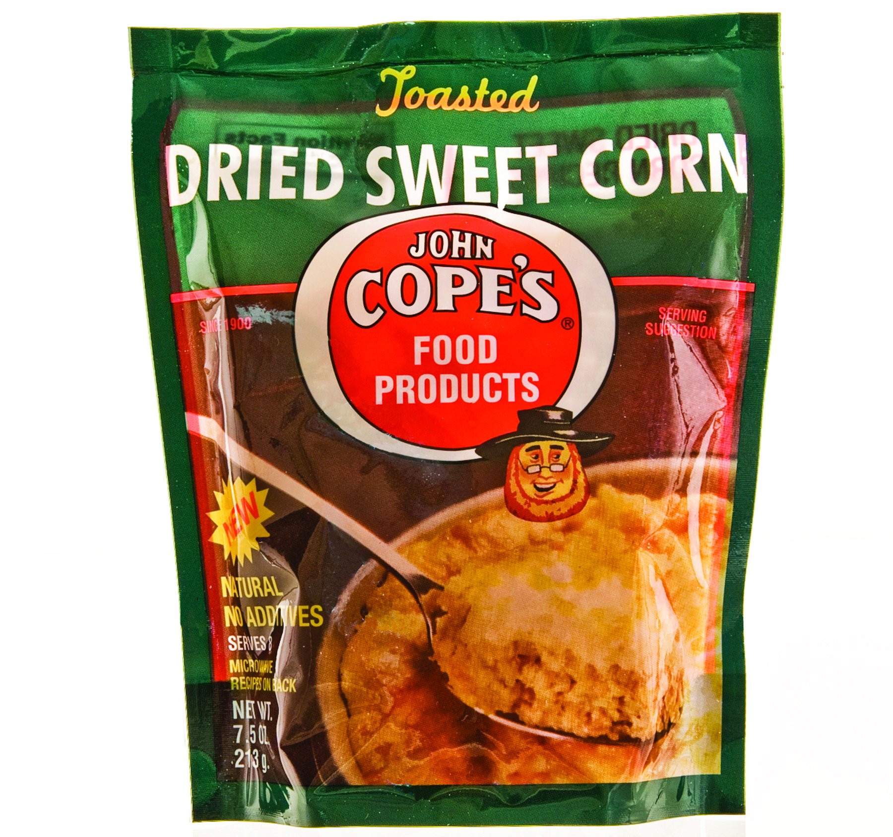 COPES CORN SWEET DRIED, 7.5 OZ (3 pack)