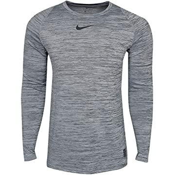 Nike Pro Heather Long Sleeve Fitted Shirt