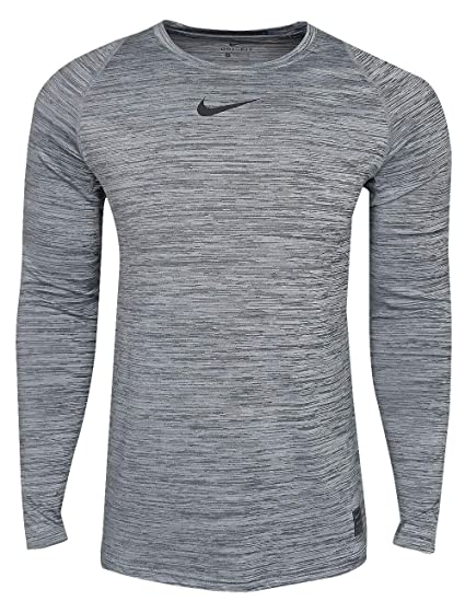 Nike Pro Fitted Long Sleeve Training Top at Amazon Men's