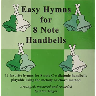 Westco Hager Easy Hymn Book for 8-Note Bells (12 Hymns; All Ages): Toys & Games