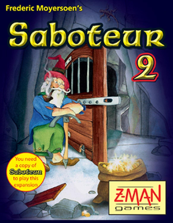 Z-Man Games 4026E Saboteur 2 - Juego de Cartas (edición Inglesa ...