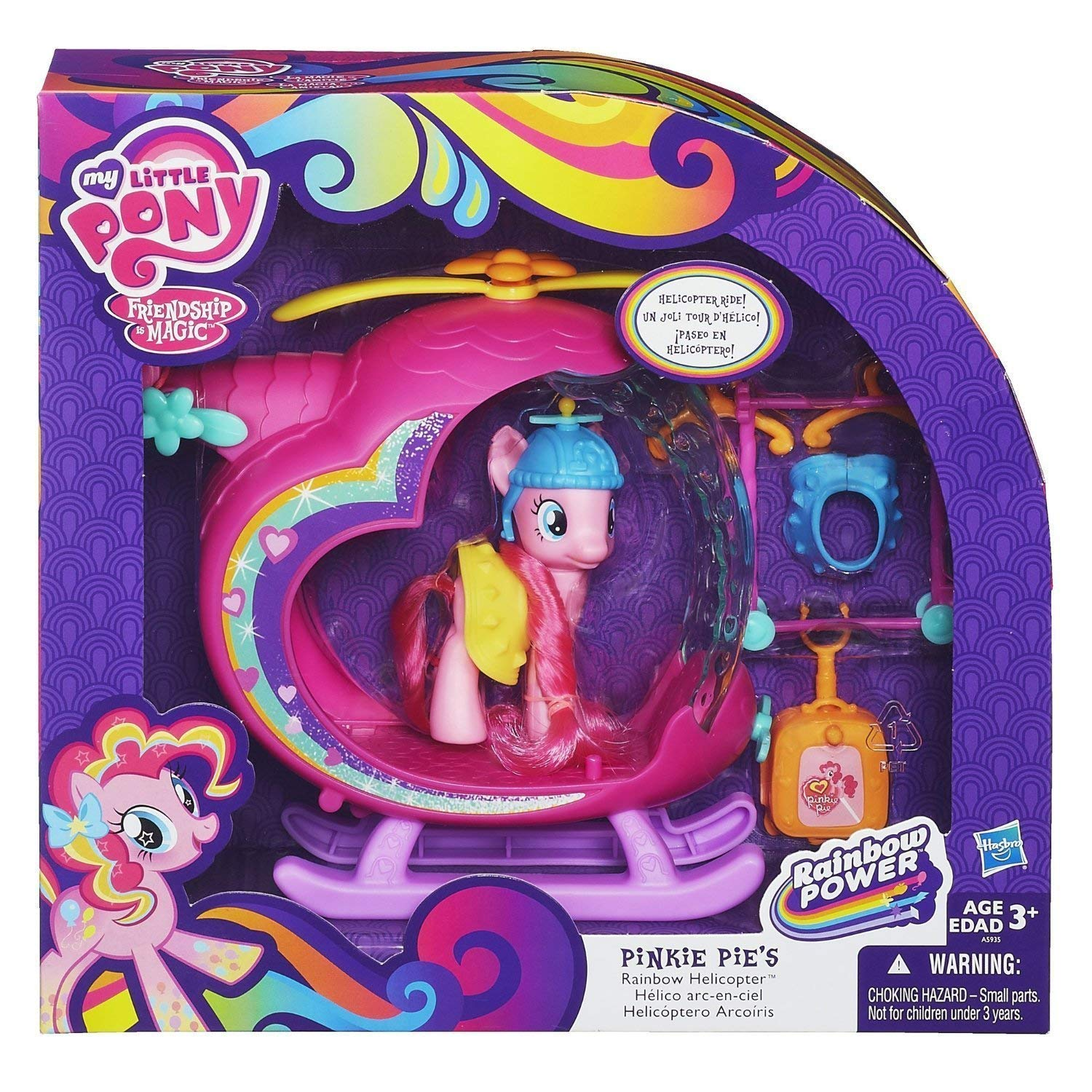 My Little Pony Pinkie Pie's Rainbow Helicopter Playset