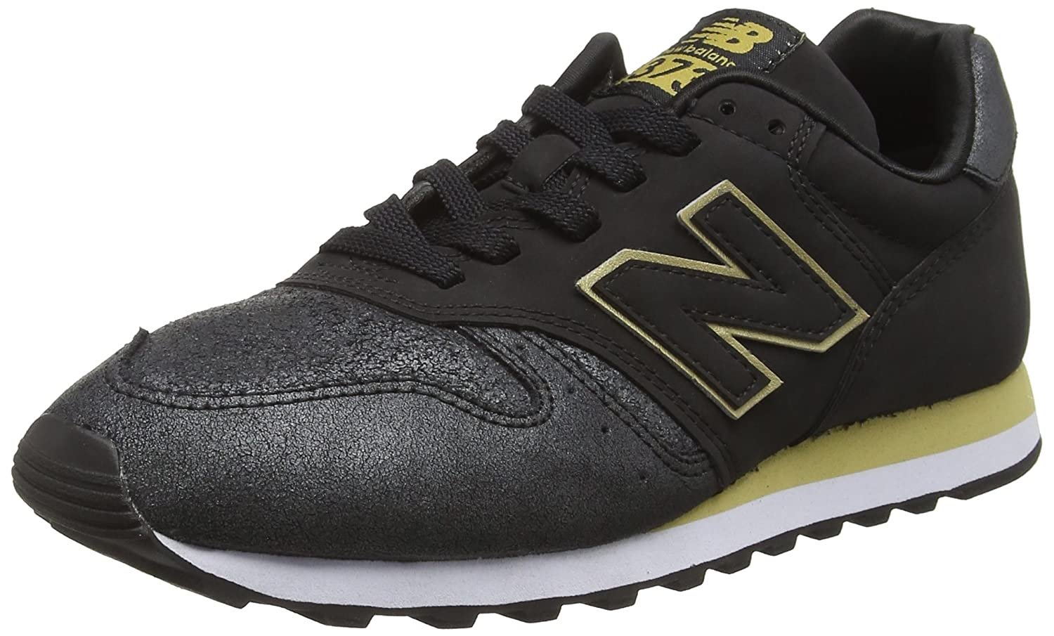 168ab749996 Amazon.com | New Balance 373 Womens Sneakers Black | Fashion Sneakers