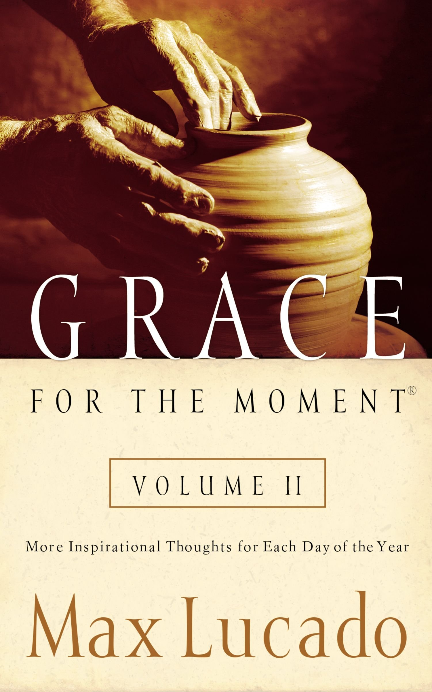 Grace for the Moment, Vol. 2: More Inspirational Thoughts for Each Day of  the Year: Terri A. Gibbs: 9781404100978: Amazon.com: Books